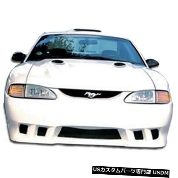 Spoiler 94-98フォードマスタングコルト2オーバーストックフロントボディキットバンパー!!! 102538 94-98 Ford Mustang Colt 2 Overstock Front Body Kit Bumper!!! 102538