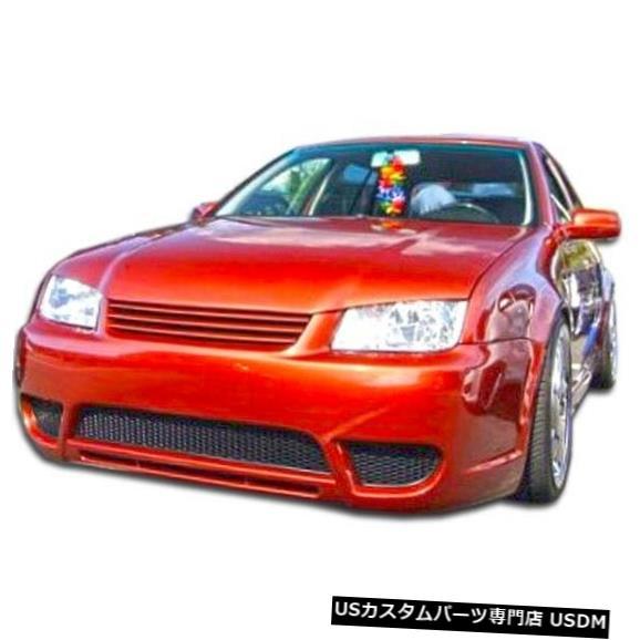 Spoiler 99-04フォルクスワーゲンジェッタボルテックスデュラフレックスフロントボディキットバンパー!!! 105964 99-04 Volkswagen Jetta Vortex Duraflex Front Body Kit Bumper!!! 105964