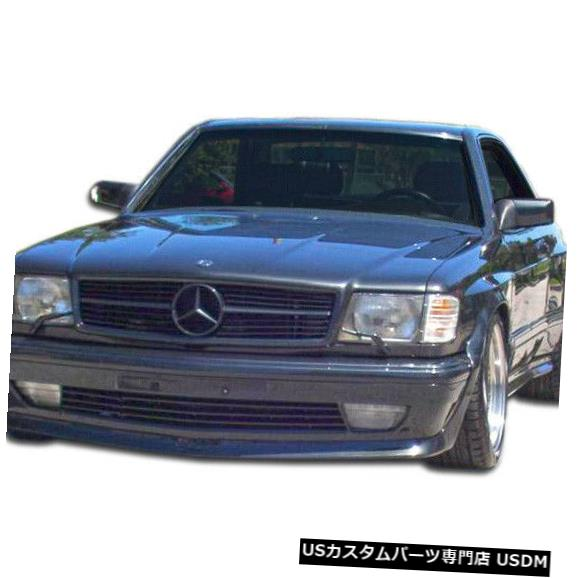Spoiler 81-91 Mercedes S Class 2DR AMG Look Duraflex Front Wide Body Kit Bumper 107195 81-91 Mercedes S Class 2DR AMG Look Duraflex Front Wide Body Kit Bumper 107195