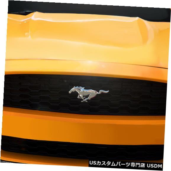 Spoiler 15-17フォードマスタングCVXカーボンクリエーションズフロントバンパーリップボディキット!!! 113091 15-17 Ford Mustang CVX Carbon Creations Front Bumper Lip Body Kit!!! 113091