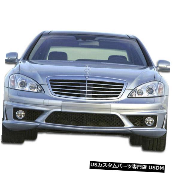 Spoiler 07-09メルセデスSクラスS65外観Duraflexフロントボディキットバンパー!!! 107201 07-09 Mercedes S Class S65 Look Duraflex Front Body Kit Bumper!!! 107201