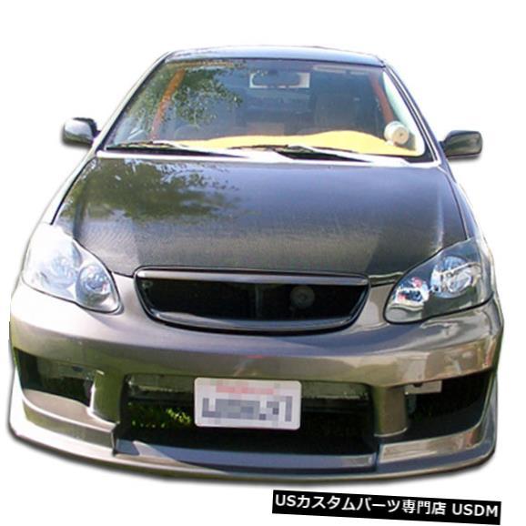 Spoiler 03-08トヨタカローラドリフターデュラフレックスフロントボディキットバンパー!!! 100536 03-08 Toyota Corolla Drifter Duraflex Front Body Kit Bumper!!! 100536