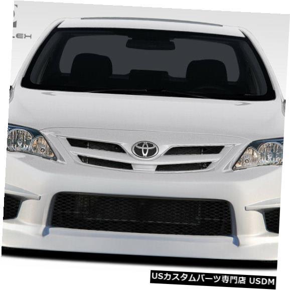 Spoiler 11-13トヨタカローラGTコンセプトデュラフレックスフロントボディキットバンパー!!! 108402 11-13 Toyota Corolla GT Concept Duraflex Front Body Kit Bumper!!! 108402