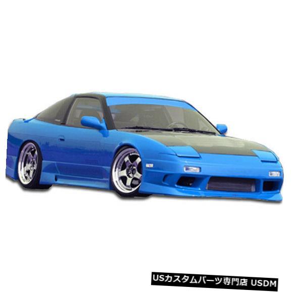 Spoiler 89-94は日産240SX GP-1 Duraflexフロントボディキットバンパーに適合!!! 100862 89-94 Fits Nissan 240SX GP-1 Duraflex Front Body Kit Bumper!!! 100862