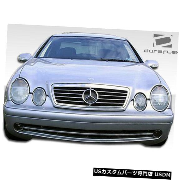 Spoiler 98-02メルセデスCLK AMGルックDuraflexフロントボディキットバンパー!!! 103045 98-02 Mercedes CLK AMG Look Duraflex Front Body Kit Bumper!!! 103045