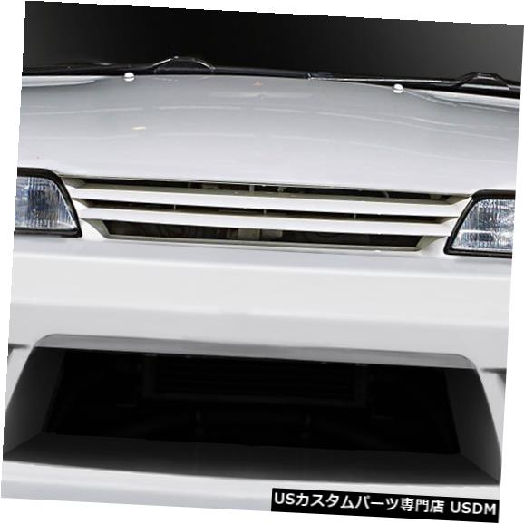 Spoiler 89-94は日産スカイラインV-Speed Duraflexフロントボディキットバンパーに適合!!! 113562 89-94 Fits Nissan Skyline V-Speed Duraflex Front Body Kit Bumper!!! 113562