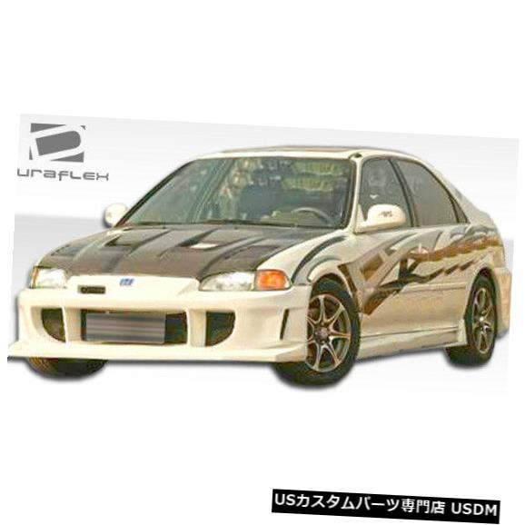Spoiler 92-95ホンダシビックJ-Specオーバーストックフロントボディキットバンパー!!! 106925 92-95 Honda Civic J-Spec Overstock Front Body Kit Bumper!!! 106925