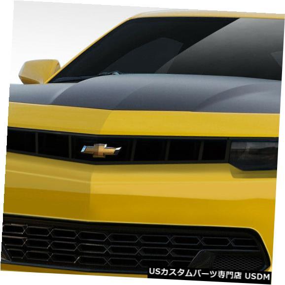 Spoiler 14-15シボレーカマロスティングレイZルックDuraflexフロントボディキットバンパー!!! 109801 14-15 Chevrolet Camaro Stingray Z Look Duraflex Front Body Kit Bumper!!! 109801