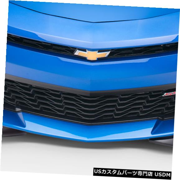 Spoiler 16-18シボレーカマログリッドDuraflexフロントボディキットバンパー!!! 113015 16-18 Chevrolet Camaro Grid Duraflex Front Body Kit Bumper!!! 113015