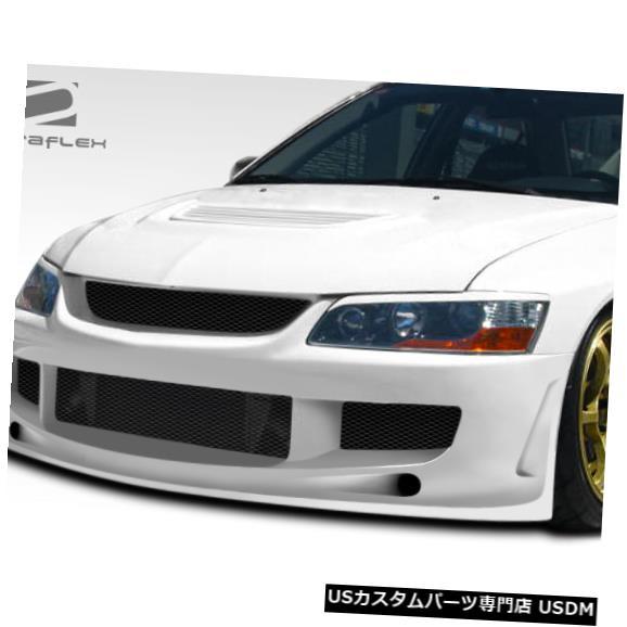 Spoiler 03-06三菱エボリューションJ-Specデュラフレックスフロントボディキットバンパー!!! 107207 03-06 Mitsubishi Evolution J-Spec Duraflex Front Body Kit Bumper!!! 107207