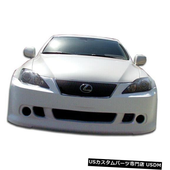 Spoiler 06-13レクサスIS 4DR VIP Duraflexフロントボディキットバンパー!!! 103353 06-13 Lexus IS 4DR VIP Duraflex Front Body Kit Bumper!!! 103353