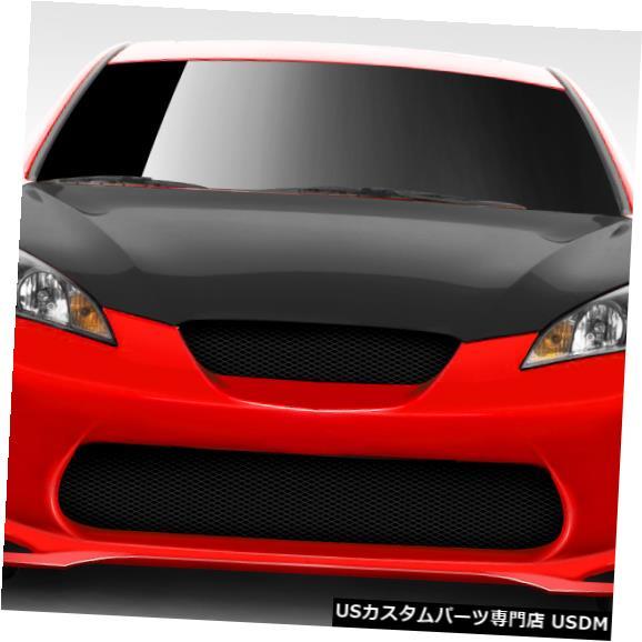 Spoiler 10-12ヒュンダイジェネシスAMS-GTデュラフレックスフロントボディキットバンパーに適合!!! 109594 10-12 Fits Hyundai Genesis AMS-GT Duraflex Front Body Kit Bumper!!! 109594