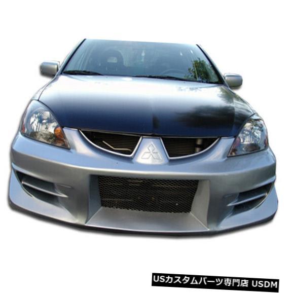 Spoiler 04-07三菱ランサーウォーカーデュラフレックスフロントボディキットバンパー!!! 100575 04-07 Mitsubishi Lancer Walker Duraflex Front Body Kit Bumper!!! 100575