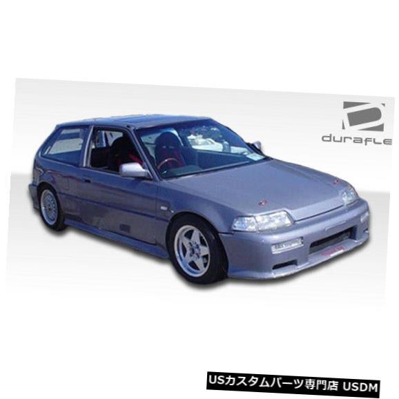 Spoiler 88-91ホンダシビックHBタイプMデュラフレックスフロントボディキットバンパー!!! 100779 88-91 Honda Civic HB Type M Duraflex Front Body Kit Bumper!!! 100779