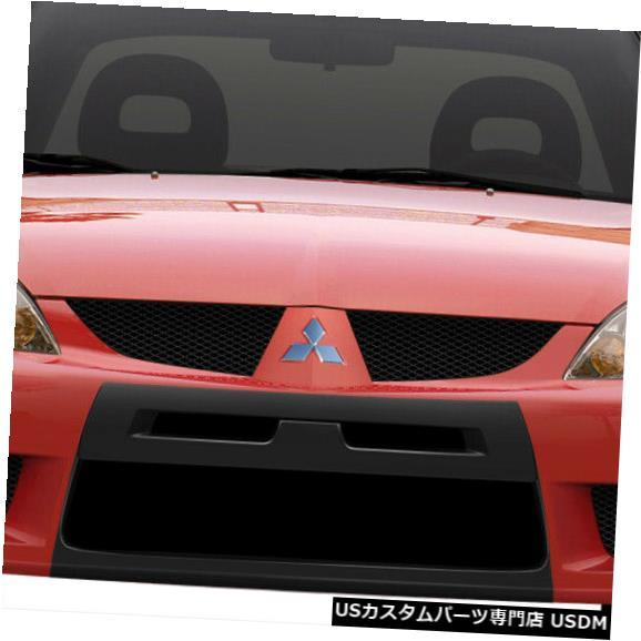 Spoiler 04-07三菱ランサーEVO Xルックデュラフレックスフロントボディキットバンパー!!! 108205 04-07 Mitsubishi Lancer EVO X Look Duraflex Front Body Kit Bumper!!! 108205