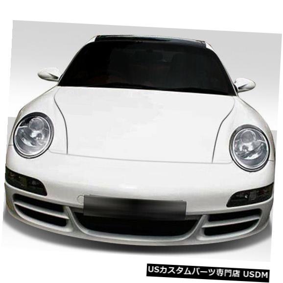 Spoiler 99-04ポルシェ996カレラコンバージョンデュラフレックスコンバージョンフロントボディキットバンパー!!! 105126 99-04 Porsche 996 Carrera Conv Duraflex Conv Front Body Kit Bumper!!! 105126