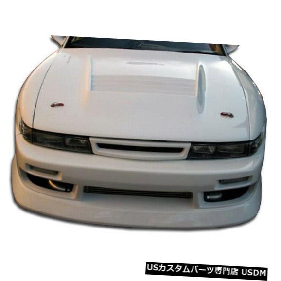 Spoiler 89-94は日産S13シルビアBスポーツDuraflexフロントワイドボディキットバンパー104620に適合 89-94 Fits Nissan S13 Silvia B-Sport Duraflex Front Wide Body Kit Bumper 104620