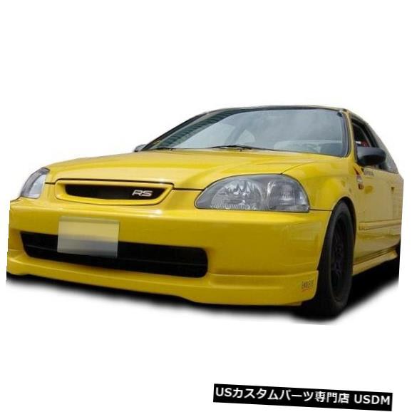 Spoiler 96-98ホンダシビックタイプRオーバーストックフロントバンパーリップボディキット!!! 105805 96-98 Honda Civic Type R Overstock Front Bumper Lip Body Kit!!! 105805