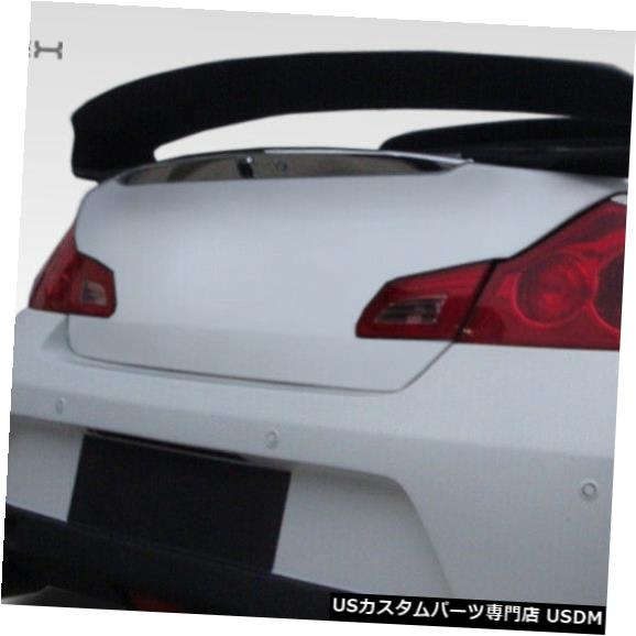 Fenders 07-13 Infiniti G Sedan Elite Duraflex Body Kit-Wing / Spoilに適合 er !!! 107669 07-13 Fits Infiniti G Sedan Elite Duraflex Body Kit-Wing/Spoiler!!! 107669