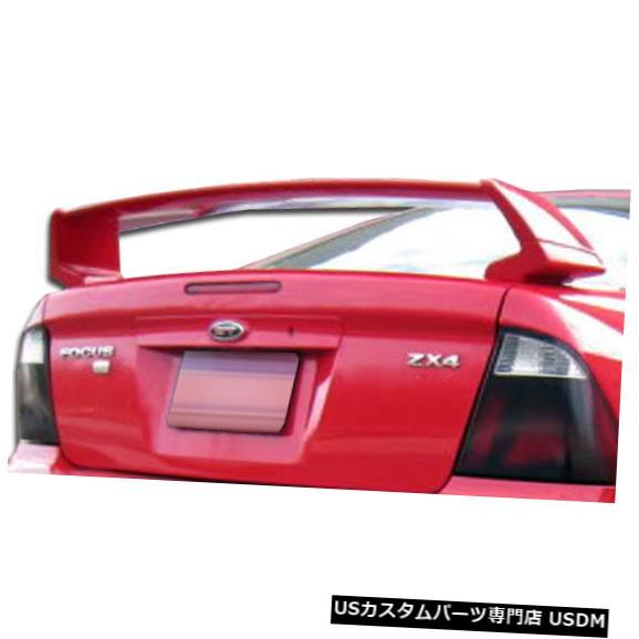 Fenders 00-07フォードフォーカス4DR SEデュラフレックスボディキット-ウィング/スポイル er !!! 105680 00-07 Ford Focus 4DR SE Duraflex Body Kit-Wing/Spoiler!!! 105680