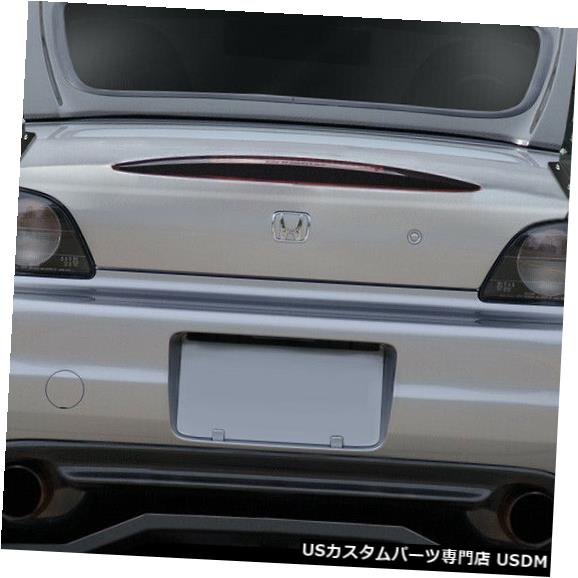 Fenders 66 ユニバーサルVRX V.2ショート9ピースカーボンファイバーボディキット-ウィング スポイル er 113263 66 Universal VRX V.2 Short 9pcs Carbon Fiber Body Kit-Wing S