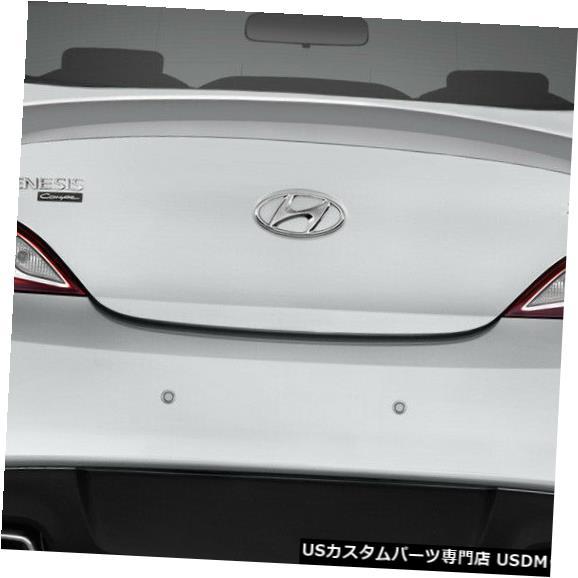Fenders 10-16ヒュンダイジェネシスMSRデュラフレックスボディキットに適合-ウィング/スポイル er !!! 113421 10-16 Fits Hyundai Genesis MSR Duraflex Body Kit-Wing/Spoiler!!! 113421