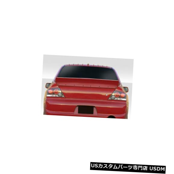 Fenders 02-07三菱ランサーダックビルデュラフレックスボディキット-ウィング/スポイル er !!! 115337 02-07 Mitsubishi Lancer Duckbill Duraflex Body Kit-Wing/Spoiler!!! 115337