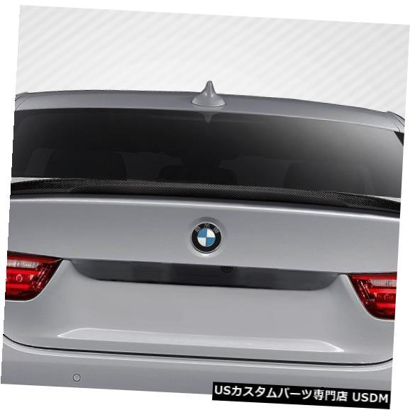 Fenders 14-18 BMW 4シリーズM Perf Look DriTechカーボンファイバーボディキット-ウィング/スポイル er 113146 14-18 BMW 4 Series M Perf Look DriTech Carbon Fiber Body Kit-Wing/Spoiler 113146