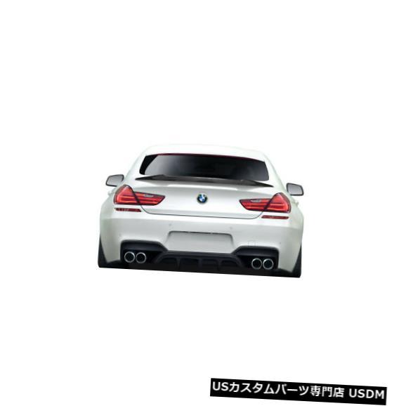 Fenders 11-19 BMW 6シリーズAF-1エアロファンクションボディキット-ウィング/スポイル er !!! 115058 11-19 BMW 6 Series AF-1 Aero Function Body Kit-Wing/Spoiler!!! 115058