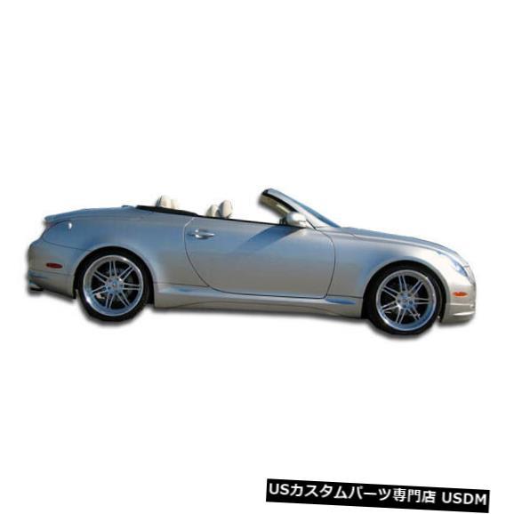 格安即決 Side Skirts Body Kit 02-10レクサスSC Body W-1デュラフレックスサイドスカートボディキット!!! Kit!!! 02-10 103576 02-10 Lexus SC W-1 Duraflex Side Skirts Body Kit!!! 103576, タイヤショップトレッド:040604c8 --- statwagering.com