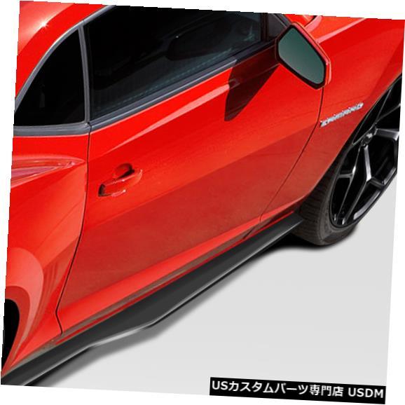 Side Skirts Body Kit 10-15シボレーカマロスティングレイZルックDuraflexサイドスカートボディキット!!! 109791 10-15 Chevrolet Camaro Stingray Z Look Duraflex Side Skirts Body Kit!!! 109791