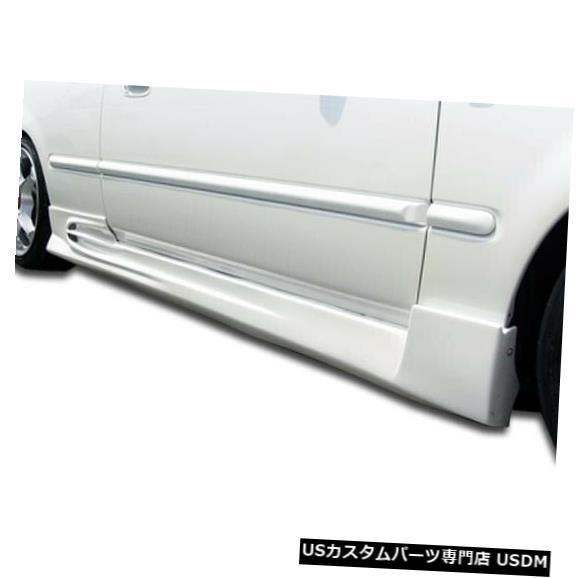 一流の品質 Side Skirts Body Kit 96-00ホンダシビック2DR AVG Duraflexサイドスカートボディキット!!! 101734 96-00 Honda Civic 2DR AVG Duraflex Side Skirts Body Kit!!! 101734, ヤワラムラ 2c3acce4