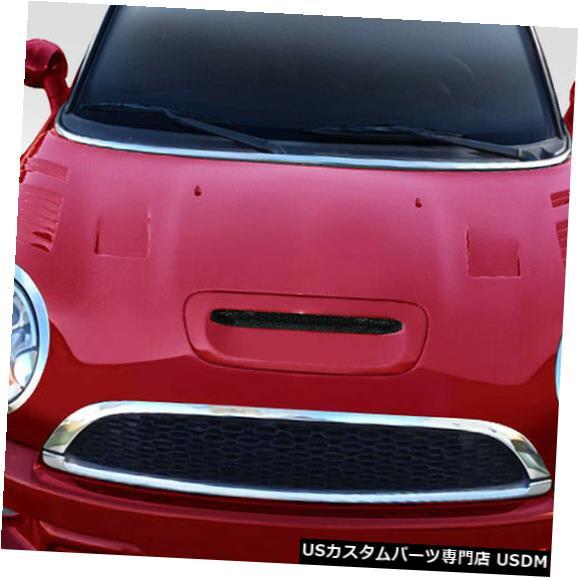 ボンネット 07-13ミニクーパーレーサーデュラフレックスボディキット-フード!!! 113314 07-13 MINI Cooper Racer Duraflex Body Kit- Hood!!! 113314