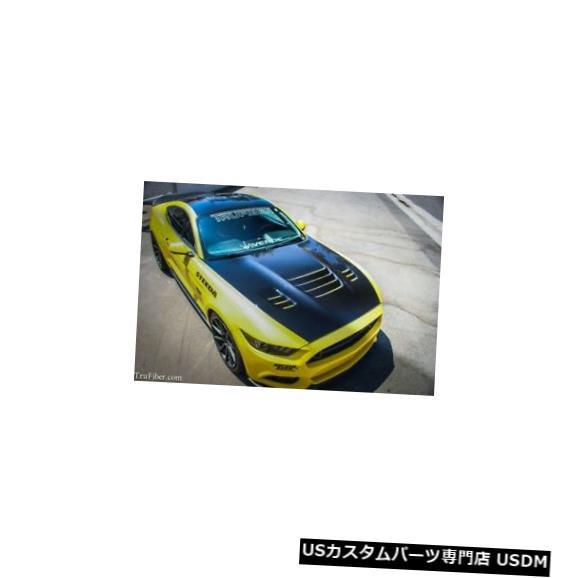 ボンネット 15-17フォードマスタングTruFiber毒ボディキット-フード!!! TF10026-A81 15-17 Ford Mustang TruFiber Venom Body Kit- Hood!!! TF10026-A81