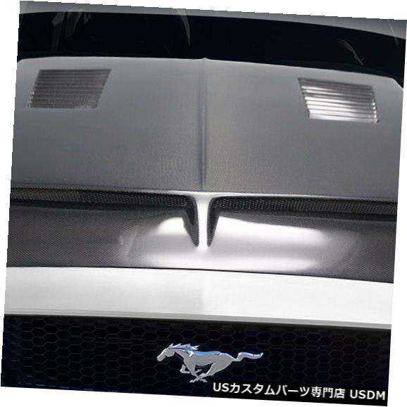 ボンネット 18-19フォードマスタングGT500カーボンファイバークリエーションズボディキット-フード!!! 115009 18-19 Ford Mustang GT500 Carbon Fiber Creations Body Kit- Hood!!! 115009
