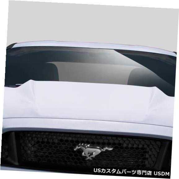 ボンネット 15-17フォードマスタングカウルデュラフレックスボディキット-フード!!! 112580 15-17 Ford Mustang Cowl Duraflex Body Kit- Hood!!! 112580