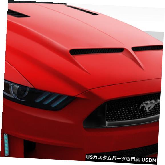 ボンネット 15-17フォードマスタングGT500デュラフレックスボディキット-フード!!! 112578 15-17 Ford Mustang GT500 Duraflex Body Kit- Hood!!! 112578