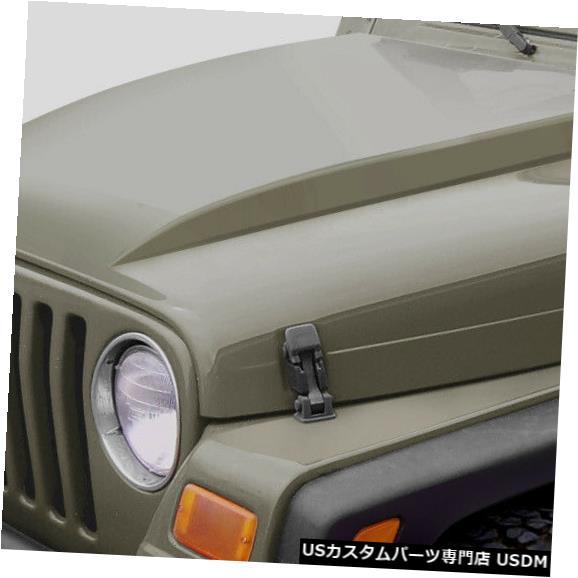 ボンネット 97-06ジープラングラーカウルデュラフレックスボディキット-フード!!! 109289 97-06 Jeep Wrangler Cowl Duraflex Body Kit- Hood!!! 109289