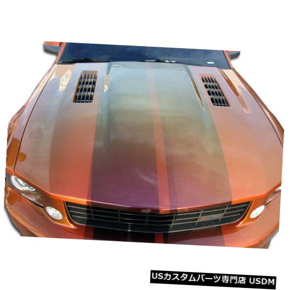 ボンネット 05-09フォードマスタングコルトデュラフレックスボディキット-フード!!! 104877 05-09 Ford Mustang Colt Duraflex Body Kit- Hood!!! 104877