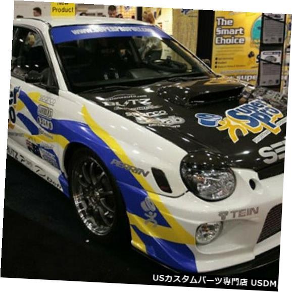 ボンネット 02-03スバルインプレッサOEセイボンカーボンファイバーボディキットに適合-フード!! HD0203SBIMP-OE 02-03 Fits Subaru Impreza OE Seibon Carbon Fiber Body Kit- Hood!! HD0203SBIMP-OE