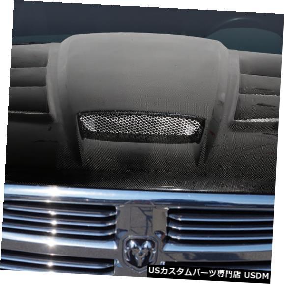 ボンネット 10-18ダッジラムバイパールックカーボンファイバークリエーションズボディキット-フード!!! 113689 10-18 Dodge Ram Viper Look Carbon Fiber Creations Body Kit- Hood!!! 113689