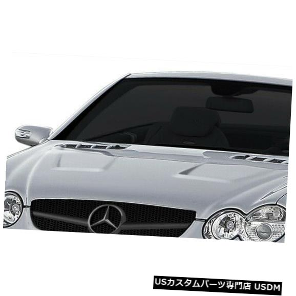 ボンネット 03-08メルセデスSL AF-Signature 1シリーズAero機能ボディキット-Conv Hood 108042 03-08 Mercedes SL AF-Signature 1 Series Aero Function Body Kit- Conv Hood 108042