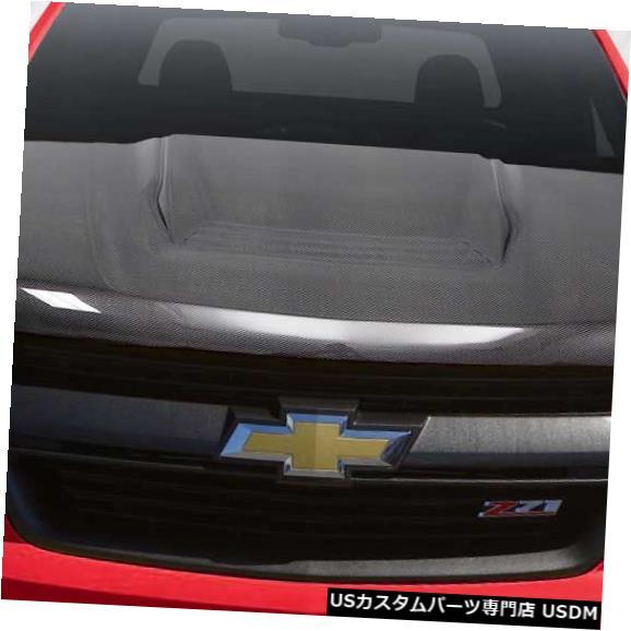 ボンネット 15-19シボレーコロラドZR2カーボンファイバークリエーションズボディキット-フード!!! 114595 15-19 Chevrolet Colorado ZR2 Carbon Fiber Creations Body Kit- Hood!!! 114595