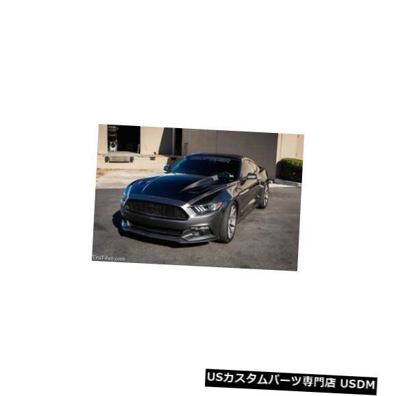 ボンネット 15-17フォードマスタングTruFiberカーボンファイバー3インチカウルボディキット-フード!!! TC10026-A49-3 15-17 Ford Mustang TruFiber Carbon Fiber 3