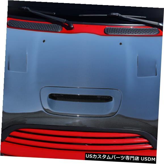 ボンネット 02-06ミニクーパーレーサーDriTechカーボンファイバーボディキット-フード!!! 112897 02-06 MINI Cooper Racer DriTech Carbon Fiber Body Kit- Hood!!! 112897