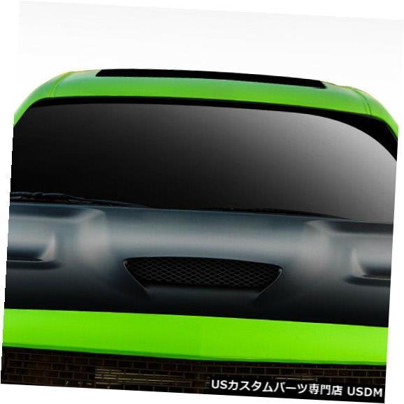 ボンネット 08-18ダッジチャレンジャーヘルキャットデュラフレックスボディキット-フード!!! 112342 08-18 Dodge Challenger Hellcat Duraflex Body Kit- Hood!!! 112342