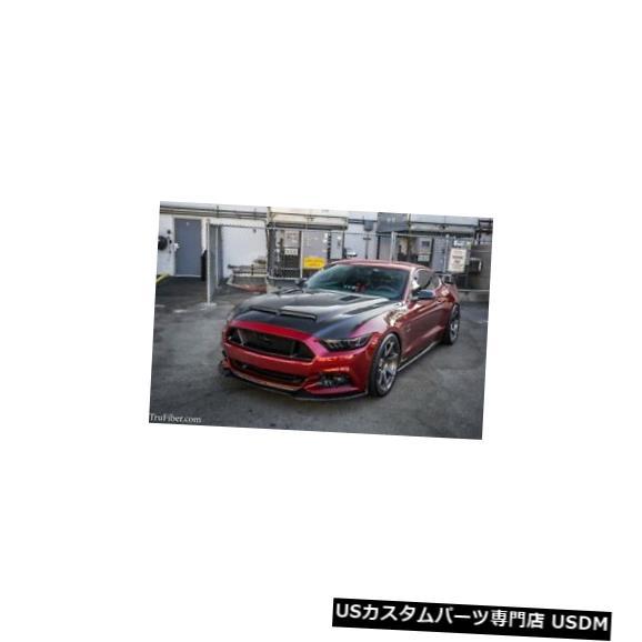 ボンネット 15-17フォードマスタングTruFiberカーボンファイバーKRボディキット-フード!!! TC10026-A53 15-17 Ford Mustang TruFiber Carbon Fiber KR Body Kit- Hood!!! TC10026-A53