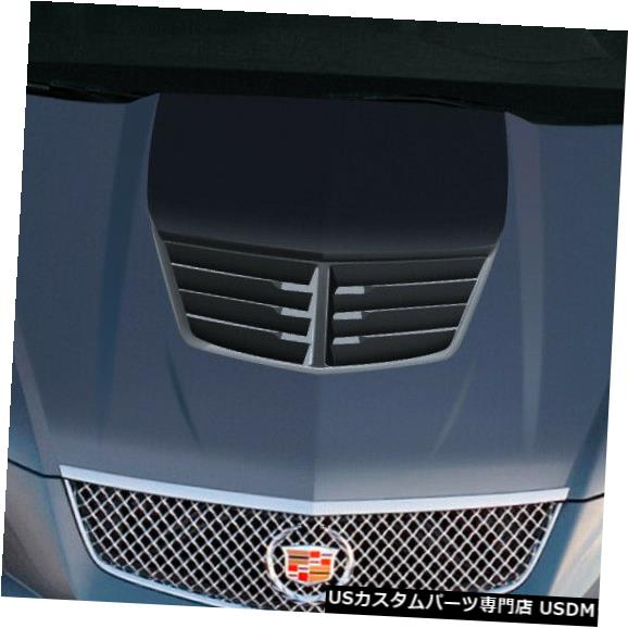 ボンネット 08-13キャデラックCTSスティングレイZデュラフレックスボディキット-フード!!! 112415 08-13 Cadillac CTS Stingray Z Duraflex Body Kit- Hood!!! 112415