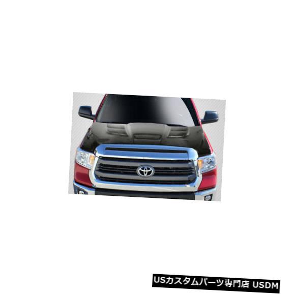 ボンネット 14-18トヨタツンドラルックカーボンファイバークリエーションズボディキット-フード!!! 113480 14-18 Toyota Tundra Look Carbon Fiber Creations Body Kit- Hood!!! 113480