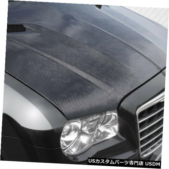 ボンネット 05-10クライスラー300チャレンジャーカーボンファイバークリエーションズボディキット-フード!!! 112476 05-10 Chrysler 300 Challenger Carbon Fiber Creations Body Kit- Hood!!! 112476